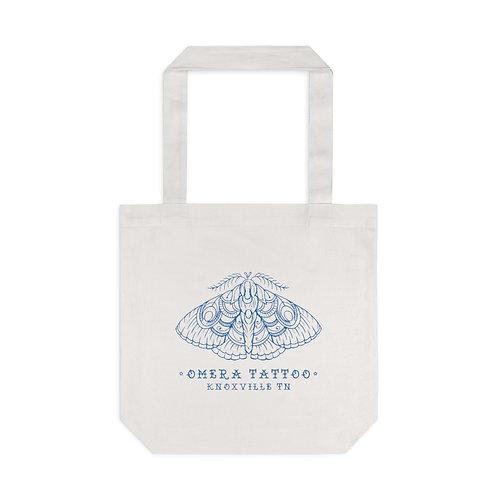 Tattoo Moth Cotton Tote Bag