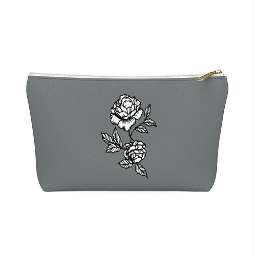 Storm Flower - Wide-bottom Pouch