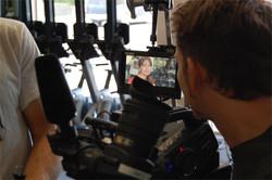 Ian McGlocklin checking focus