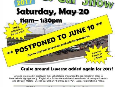 Papik Car Show Postponed