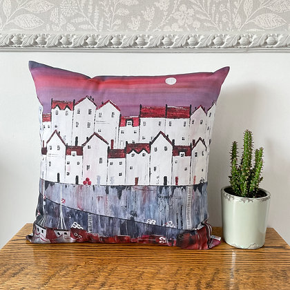 Red Roofs Cushion