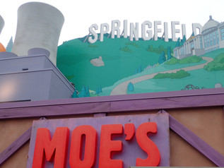 Universal Studios Welcomes You To Springfield