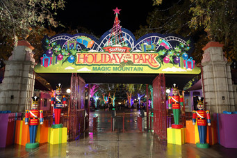 Six Flags Magic Mountain Shines During Annual HOLIDAY IN THE PARK®
