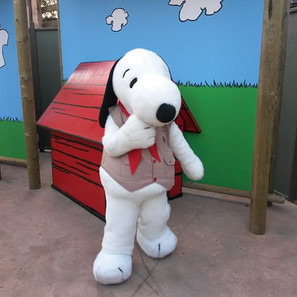 A Day with Snoopy at Knott's Berry Farm