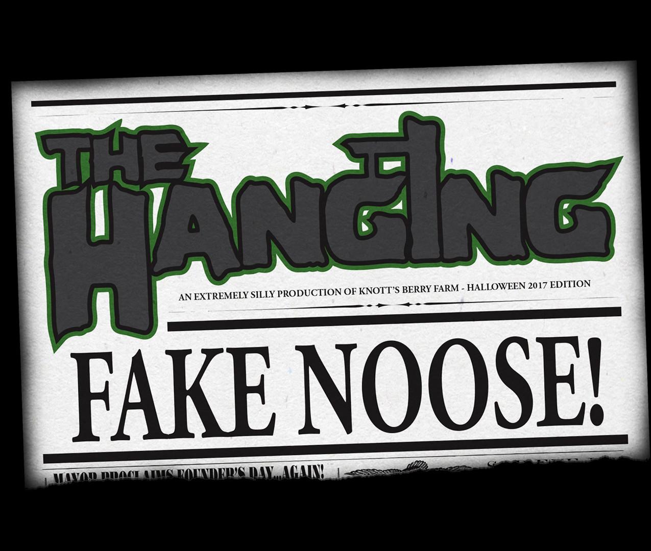 The Hanging Fake Noose 2017