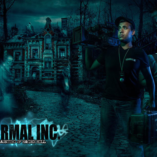 Paranormal Inc Hero with Logo Slide