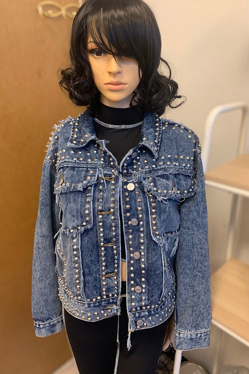 Studded Jean Jacket