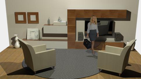 'Scandinavian' Inspired Interior Space