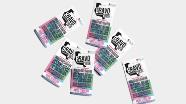 'Bravo' Exhibition Identity and Promotional Material
