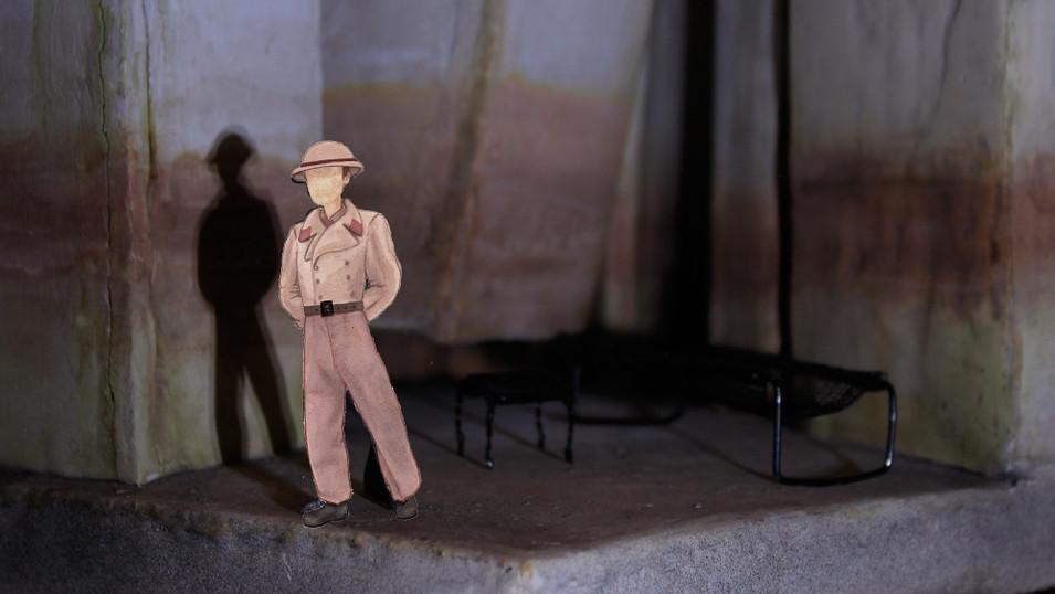 'No Exit' By Jean-Paul Sartre Production Mockup