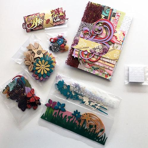 Refill for Gorgeous Gardens Handmade Card Making Kit