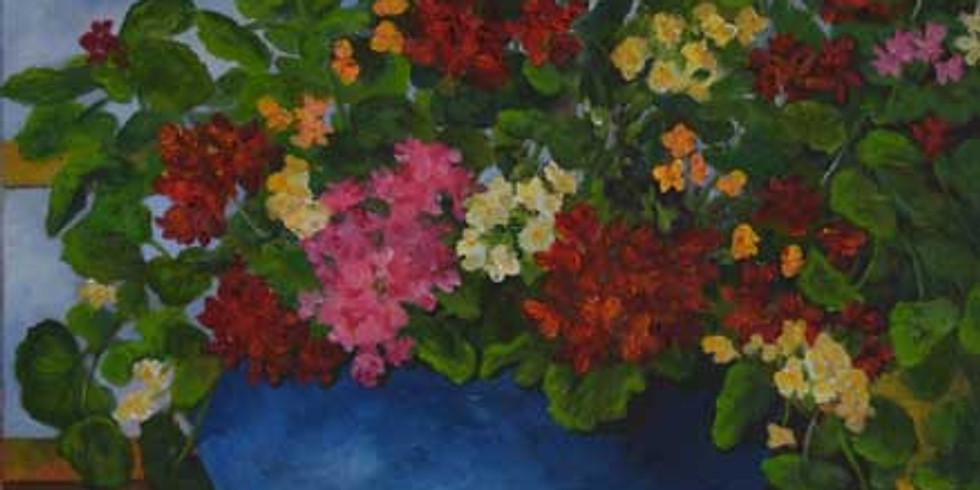 Paint Gorgeous Flowers