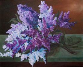 Lilacs on aTable