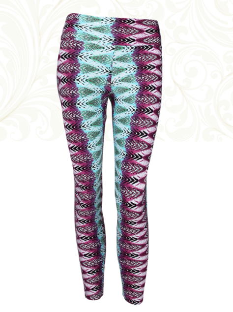 Liquido : Pattern legging Tribal colors