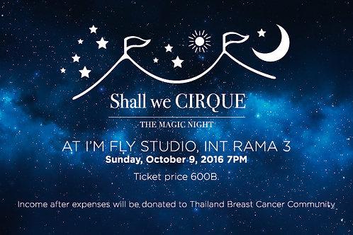 Ticket on Sun 9, Oct 2016