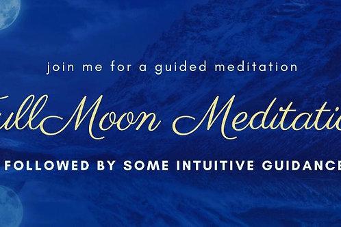 Moon Meditation Donation 30th Nov 7pm