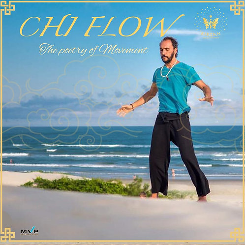 Chi Flow Class live from Brazil with Dharmamitra -  One Class Pass