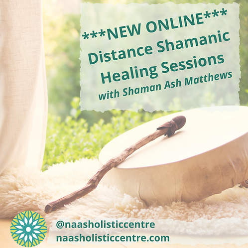 Distance Shamanic Healing Session with Ash Matthews