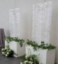 Large acrylic seating chart JFK library wedding display