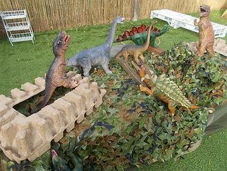 Dino exploration outside.JPG