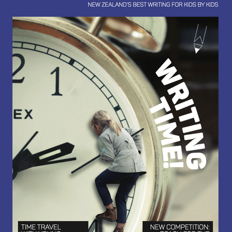 Issue 55 Time Travel is launched.