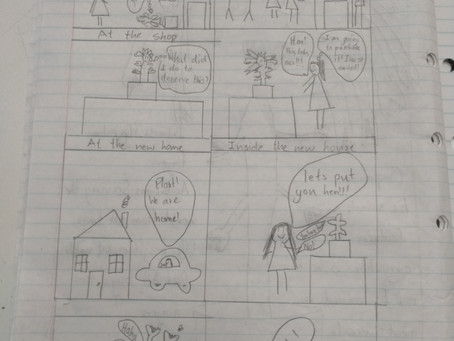 Kidsfest Winter Writing School - day 3