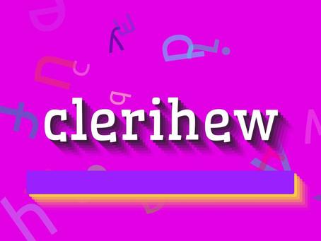 Gails' Prompt 2: A Clerihew for Fun