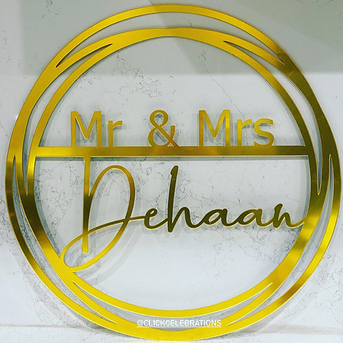 Signage- Events, Bedroom. Weddings, Business