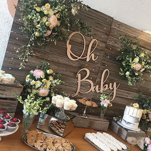 """Oh Baby"" 👶🏻 What a lovely baby shower"
