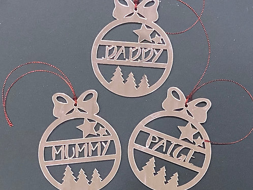 Ornaments and Tags
