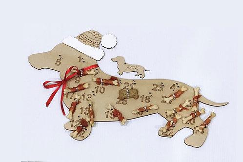 Animal silhouette advent calendar