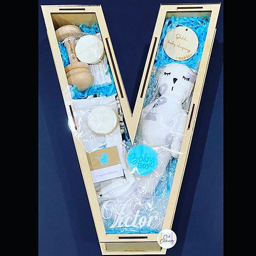 Wooden Large Gift Box- Baby