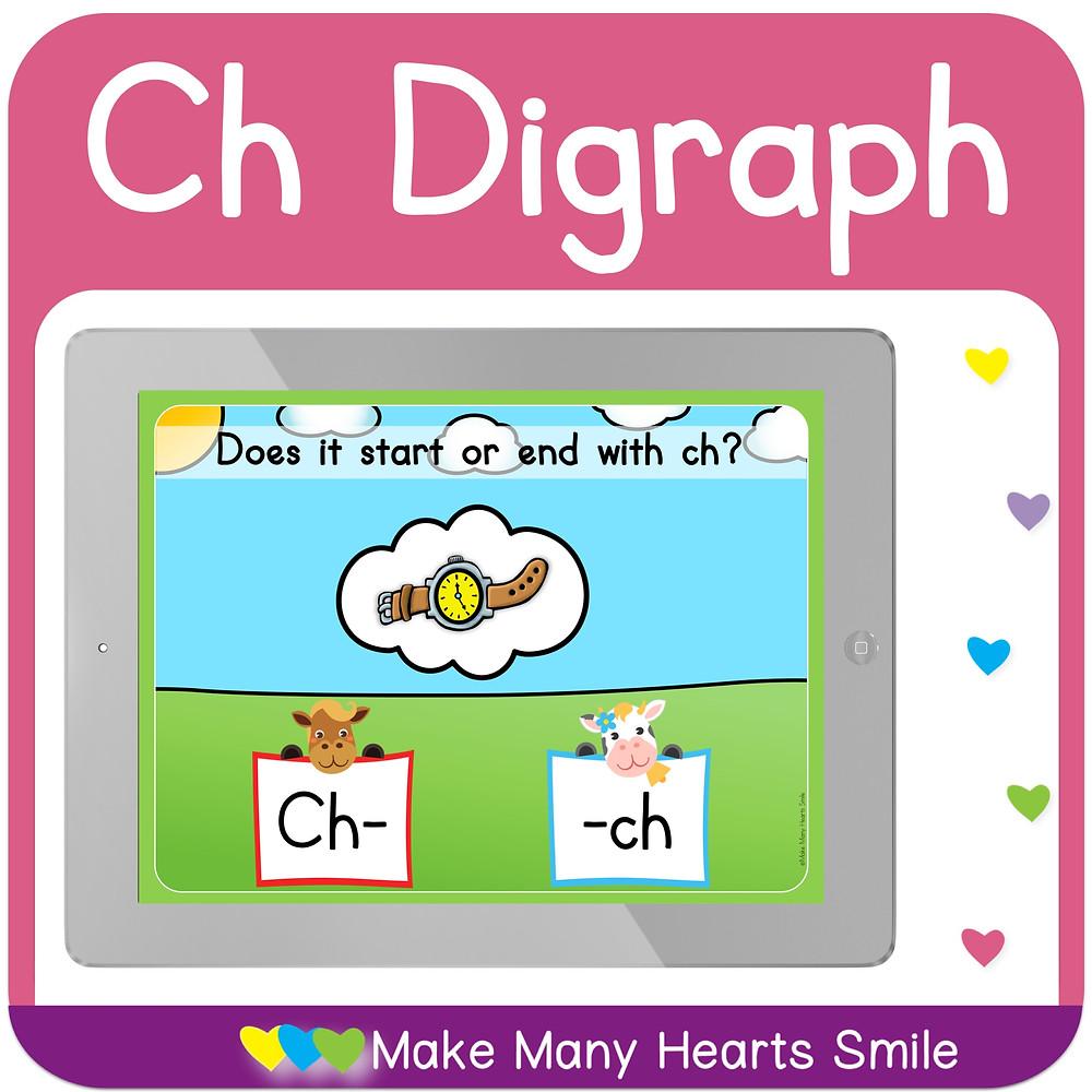 CH DIGRAPHS CLICKABLE PDF