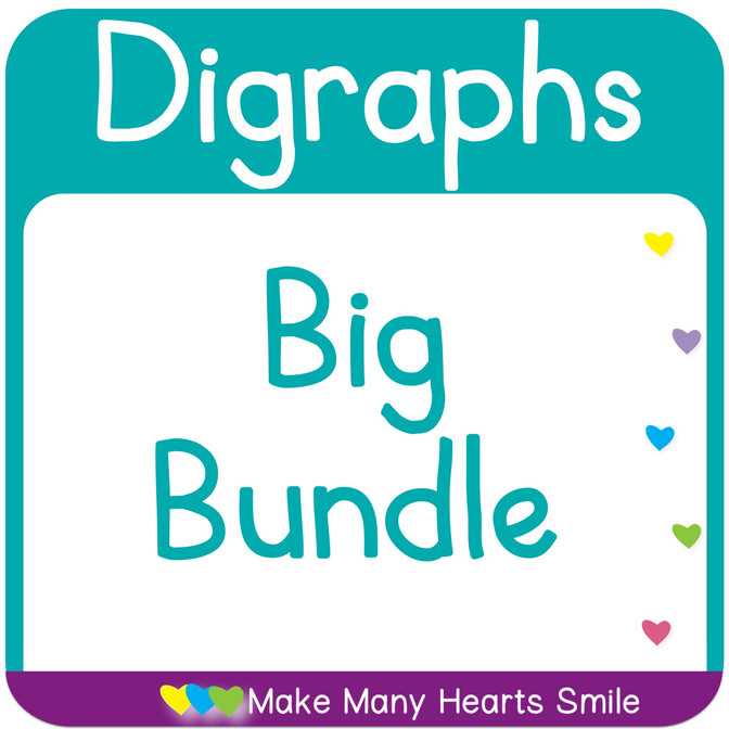 A Big Bundle of Digraphs Worksheets and Centers