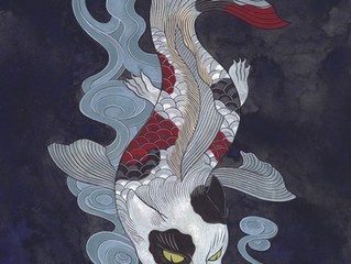 石黑 亞矢子 個展「水和火的獸類展」