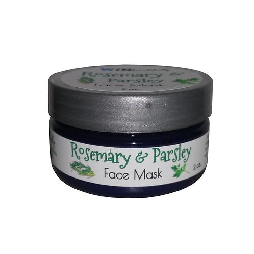 Rosemary & Parsley Face Mask