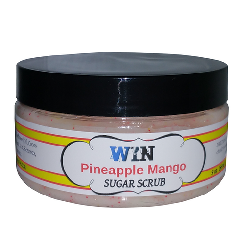 Pineapple Mango Emulsifying Sugar Scrub