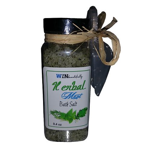 Herbal Mint Bath Salt