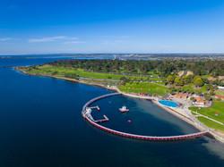 Geelong waterfront ocean swimming pool
