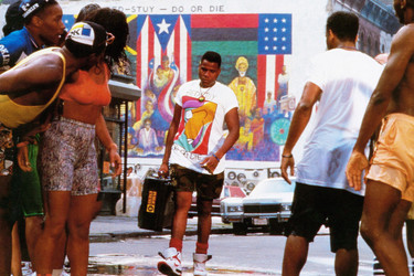 """Still from Spike Lee's """"Do The Right Thing"""""""