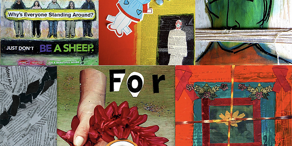International Collage Day   Open House & Drop-in Workshop