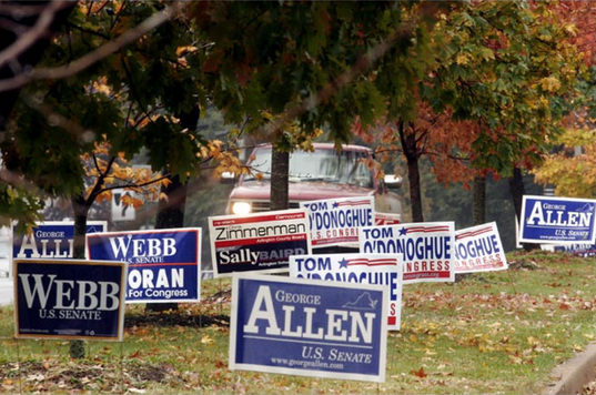 Election Lawn Signs