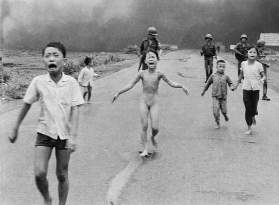 Napalm Bombing, North Vietnam 1972