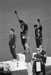 Tommy Smith and John Carlos, 1968 Olympics