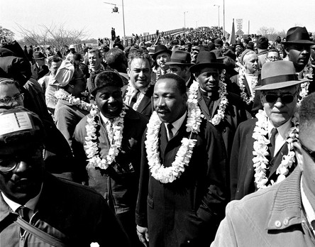 Martin Luther King at Selma, 1965