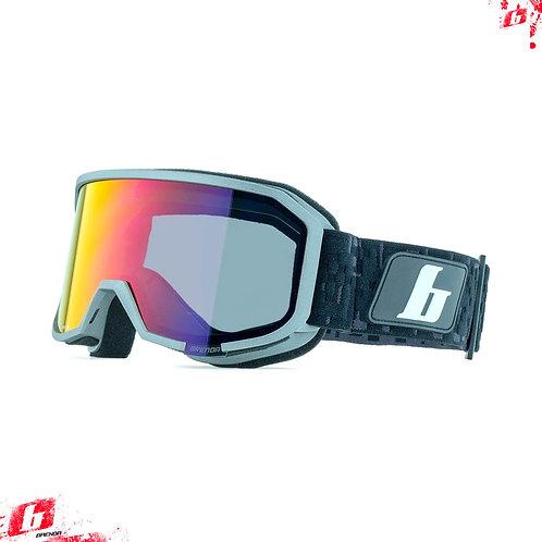 Горнолыжные очки Brenda ASPEN grey-red revo