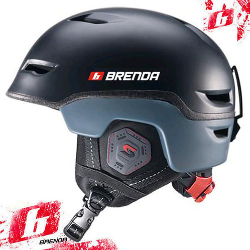 Шлем спортивный BRENDA BENT matt black (58-62 р-р)