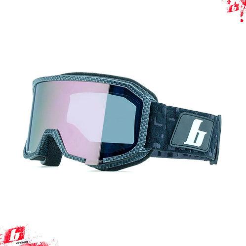 Горнолыжные очки Brenda ASPEN carbon-gold mirror