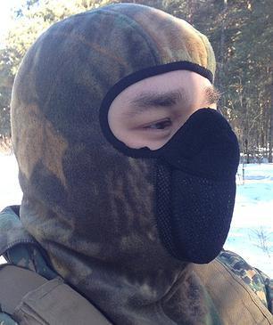 Тепловая маска БАЛАКЛАВА летний камуфл. ТМ.1.1.WSK