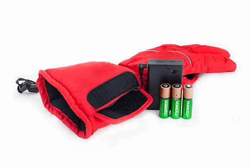 Перчатки с подогревом на батарейках